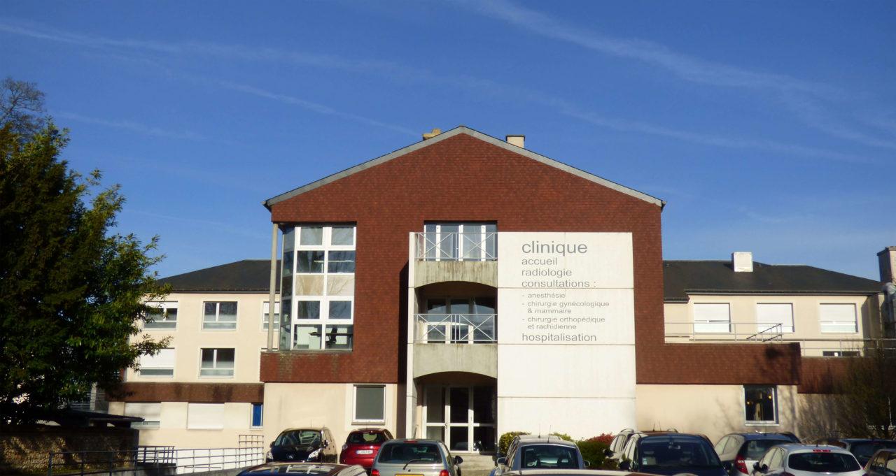 Batiment clinique saint antoine