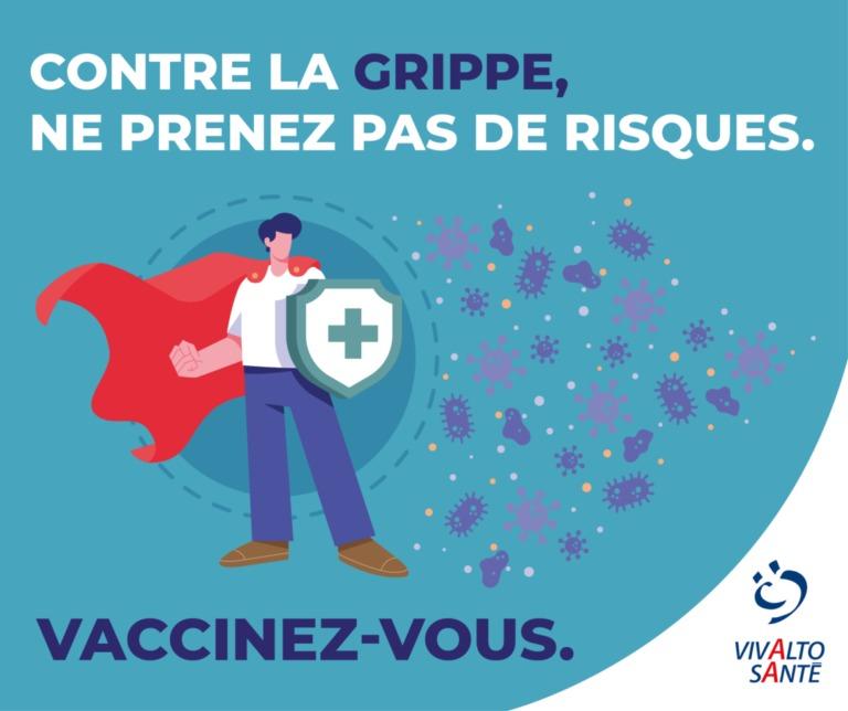 Visuel vaccination grippe